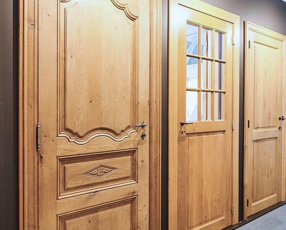 Portes intérieures massives/semi-massives ou plaquées bois